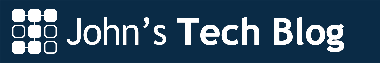 John's Tech Blog